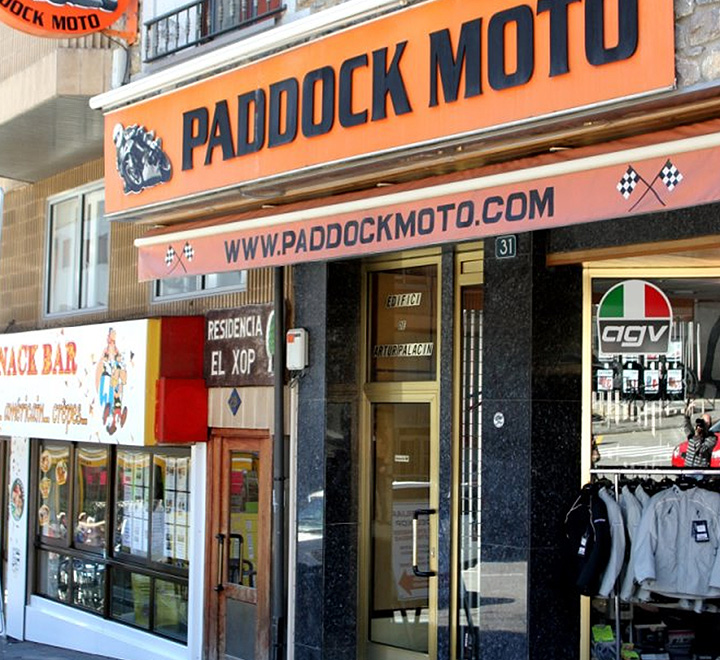 magasins moto et quipement pour motards en andorre paddock moto. Black Bedroom Furniture Sets. Home Design Ideas